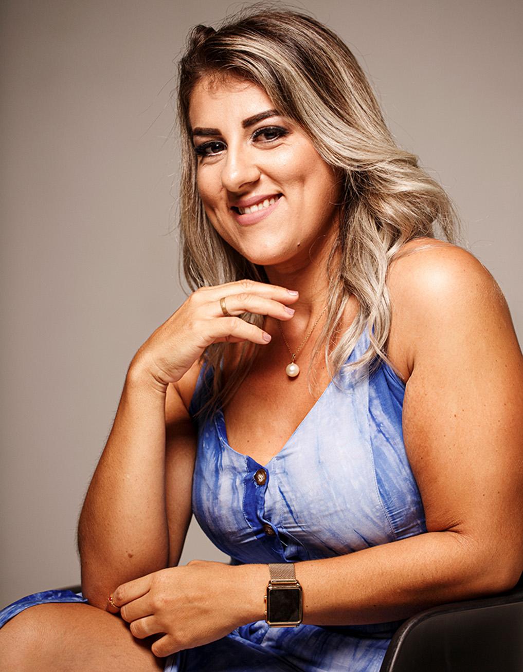 Fernanda emagreceu 44kg em menos de dois anos.